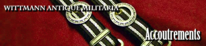 Wittmann Militaria Accoutrements Section